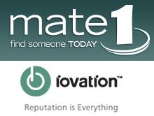 Mate1 iovation loga