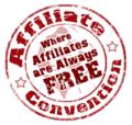 Affiliate convention logo