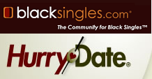 Blacksingles hurrydate loga
