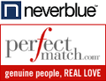 Neverblue perfectmatch loga