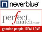 Neverblue perfectmatch loga