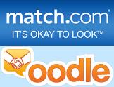 Matchcom oodle loga