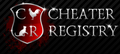 Cheaterregistry logo