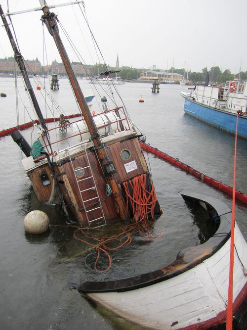 Boat in oslo