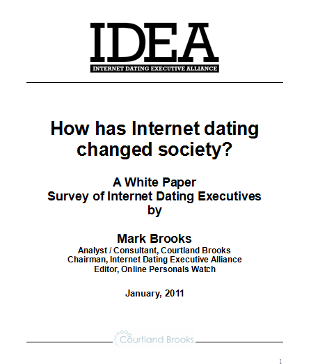 How has online dating affected society
