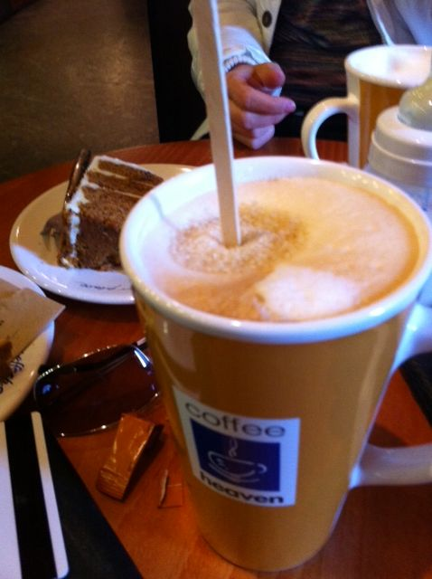 Coffee in prague