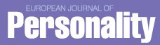 European journal of personality