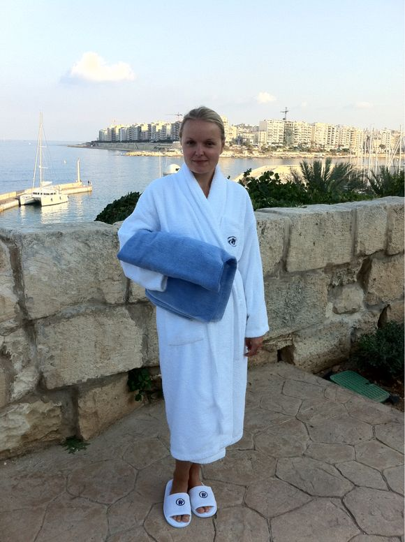 Relaxing At Malta's Hilton