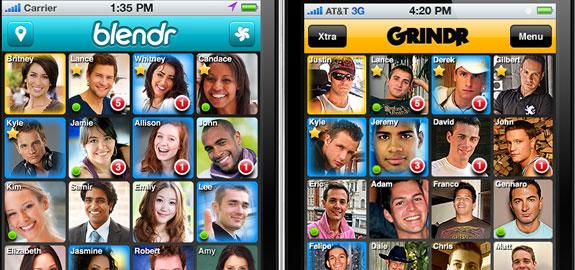 Blendr grindr apps