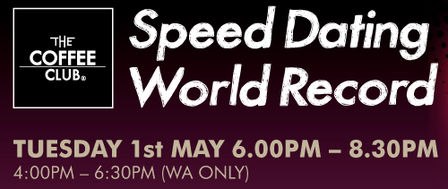 speed dating verdensrekord tips til dating en forfatter