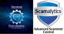 Datingfactory scamalytics logos