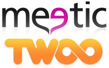 Meetic twoo logos