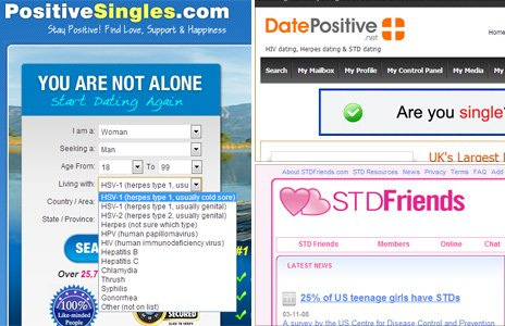 Positivesingles screenshot