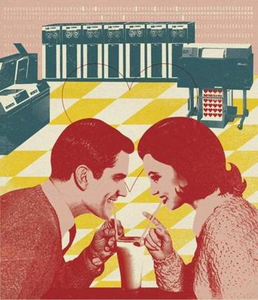 Internet dating old school