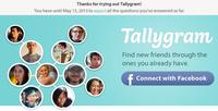 Tallygram closing screenshot