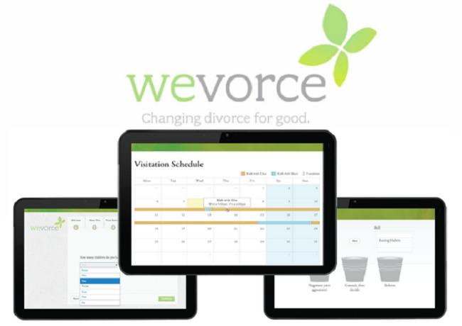 Wevorce screenshot