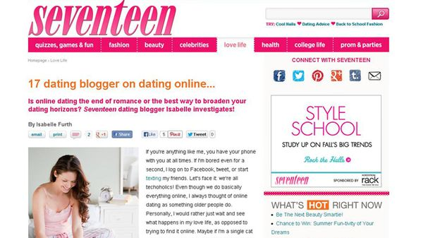 Ostaa Dating website malli