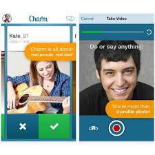 Charm dating app screenshots