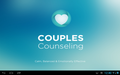 Couples counselling chatting