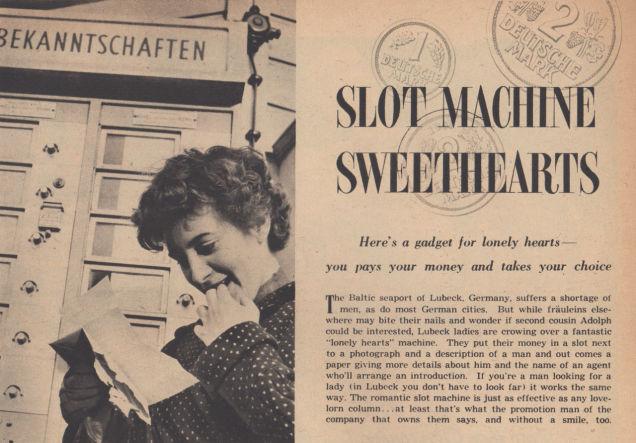 Slot machine sweethearts