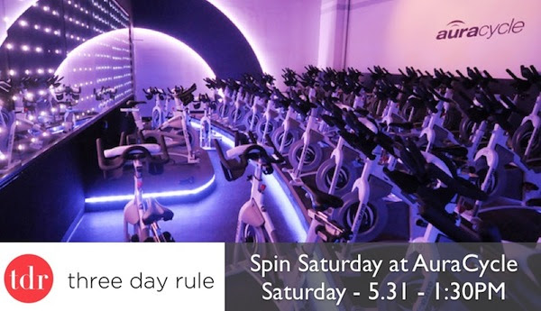Threedayrule  spinning class