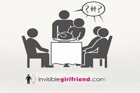 Invisible girlfriend pic