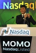 Momo delists from nasdaq