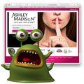 Ashleymadison with worm
