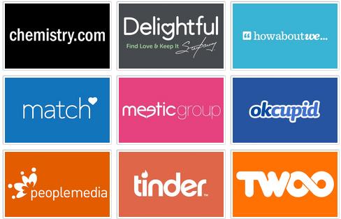 Match group logos