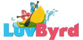 Luvbyrd logo