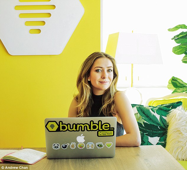 Bumble whitney wolfe in the office