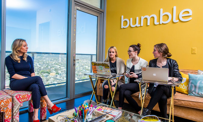 Bumble office meeting