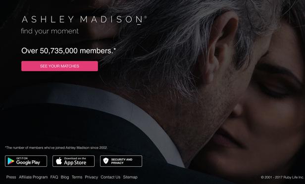 Ashleymadison screenshot 2017