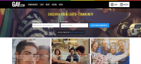 Gay.com screenshot 2017