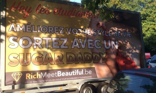 Richmeetbeautiful billboard belgium