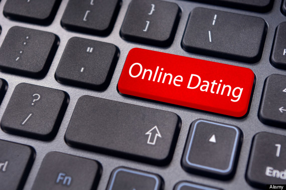 Onlinedating key on keyboard