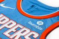 Bumble logo on jersey