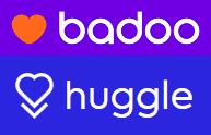 Badoo huggle logos