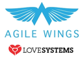Agilewings lovesystems logos
