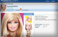 Match fake profile barbie