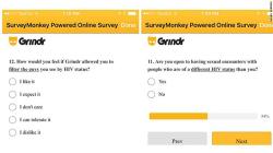 Grindr hiv survey