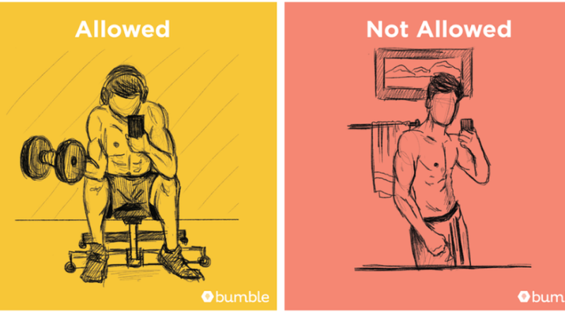 Bumble pics restrictions