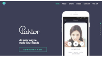 Paktor screenshot website
