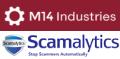 M14 scamalytics logos