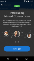 Matchcom missed connections screenshot