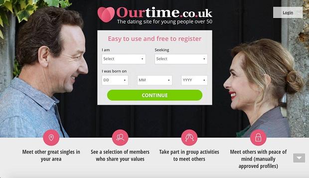 Ourtime uk screenshot