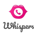 Whispers dating app logo