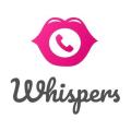 Whispers dating app logo