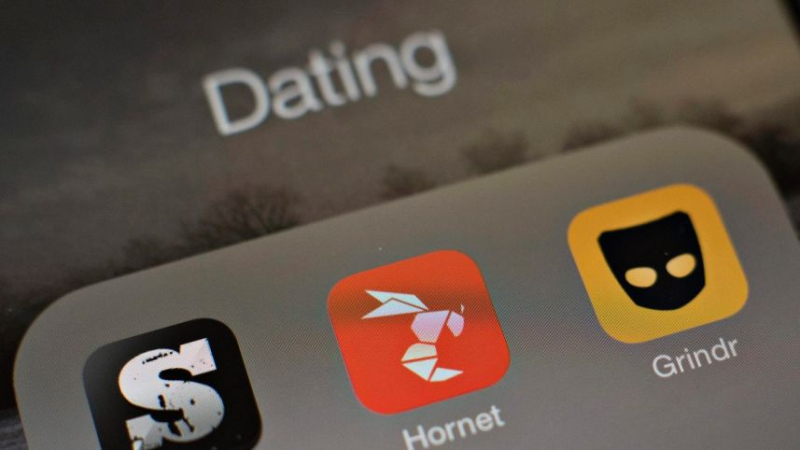 Gay dating apps icons