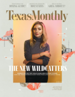 Texas monthly cover with wolfe